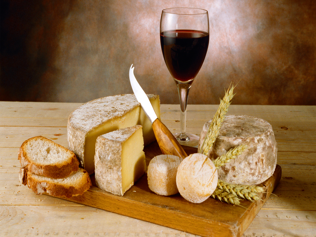 Cheese Wine Du Pain Vin Fromage
