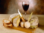 Du pain, du vin, du... fromage