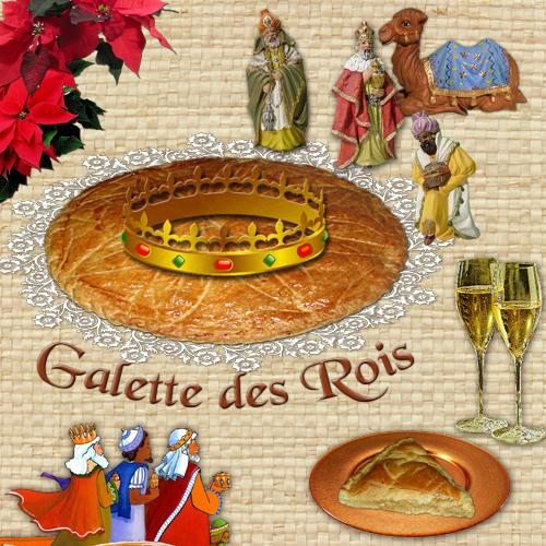 F te des rois 2013 brentwood montbazon town twinning for Galette des rois decoration